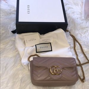 Authentic Gucci Marmont super mini